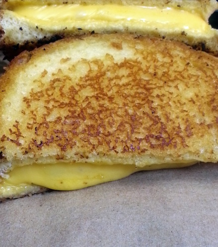 Yes you can make a grilled cheese on the gril